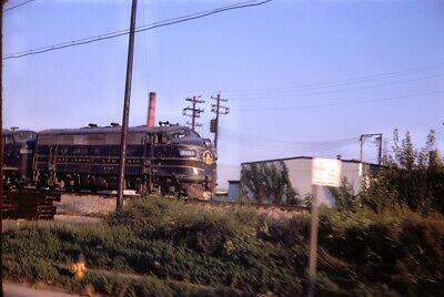 Baltimore & Ohio (B&O) - F7a - #4487 - Original 35mm Slide.