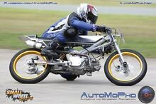Supermono 150 Clubman. Bucket racer Darling Heights Toowoomba City Preview