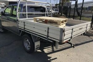 Ford Ranger PJ PK aluminium tray with drop down sides