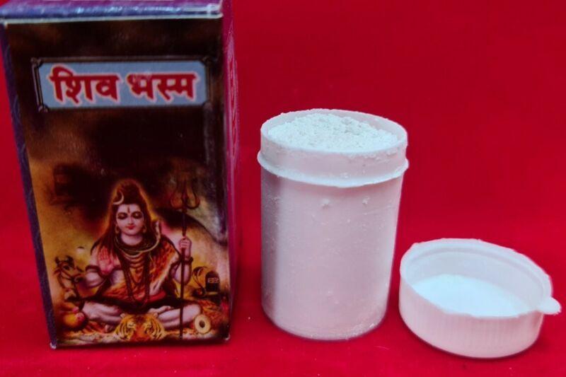 Shiv Bhasam Vibhooti vibhuti puja purpose usa seller  fast shipping