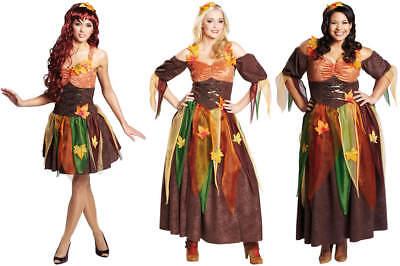 Sexy Herbstfee Herbstfee Fee Elfe Karneval Fasching Kostüm (Herbst Kostüme)