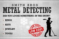 Lost Something in the Snow? Metal detecting service