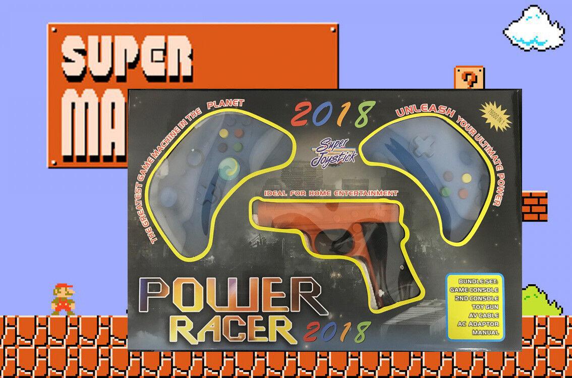 2019 Super Joystick 76 Classic Retro Video Game Two Joystick Gun Set Combo Mario