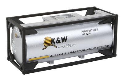 HO Tankcontainer 20 Fuß K&W Alaska -- 8102 NEU