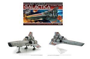 Battlestar Galactica Colonial Viper Moebius Plastic Kit & 35th Anniversary Print