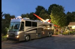 MCI Motor Coach RV. Bus Conversion similar Prevost