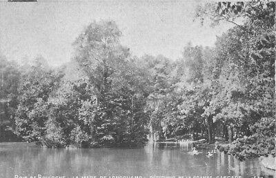 MADERA DE BOLOÑA - la piscina de Longchamp - tanque de la gran Cascada segunda mano  Embacar hacia Spain