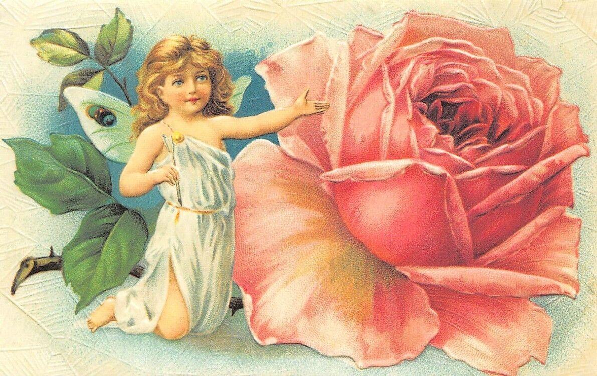 Открытки с днем рождения женщине с ангелочками красивые