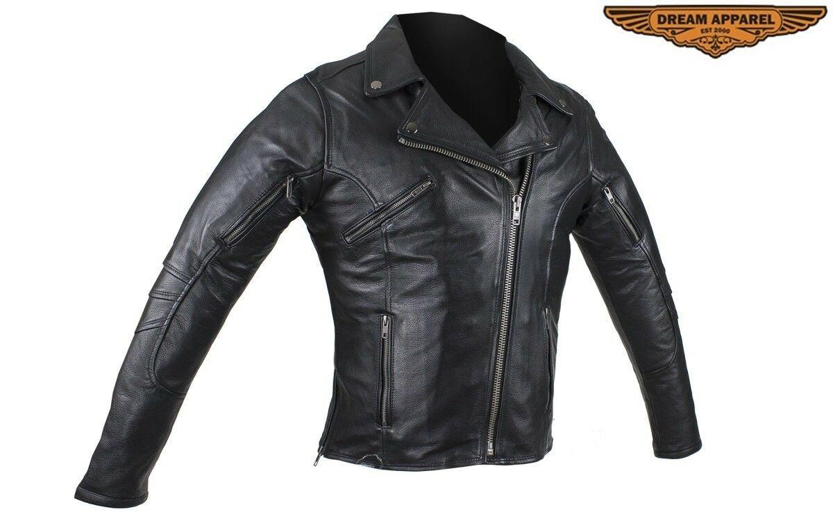 Responsive Web Design For Ccw: Women's Pleated Genuine Naked Cowhide Leather Jacket With