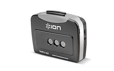 Ion Tape 2 Go Digital Conversion Cassette to MP3 Player