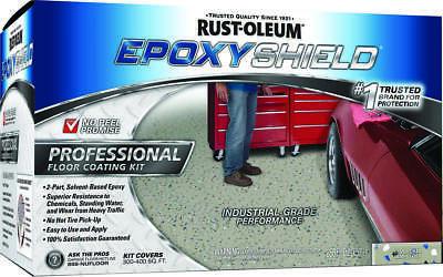 Epoxyshield Esh-06 Professional Solvent Based Floor Coating Kit Liquid