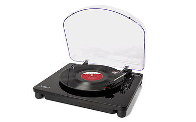 Ion Audio Classic LP 3-Speed Belt-Drive USB Conversion Turntable for Mac & PC