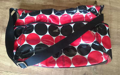 **KATE SPADE** Polka Dot Daycation Serena Baby/Tote Bag & Cosmetic Pouch Set-New