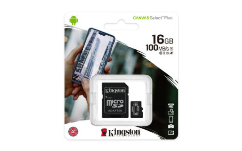 Kingston 16GB 16G Micro SD HC Class 10 100MB/s TF Flash SDHC Memory Card mobile Cell Phone Accessories