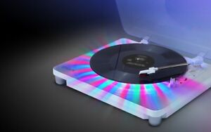 ION Audio Photon Lp 3-Speed Turntable with Built-In Multi-Color