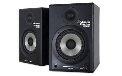 Alesis - M1ACTIVE 520 USB - Studio Monitors Speakers with USB Audio I/O - Pair