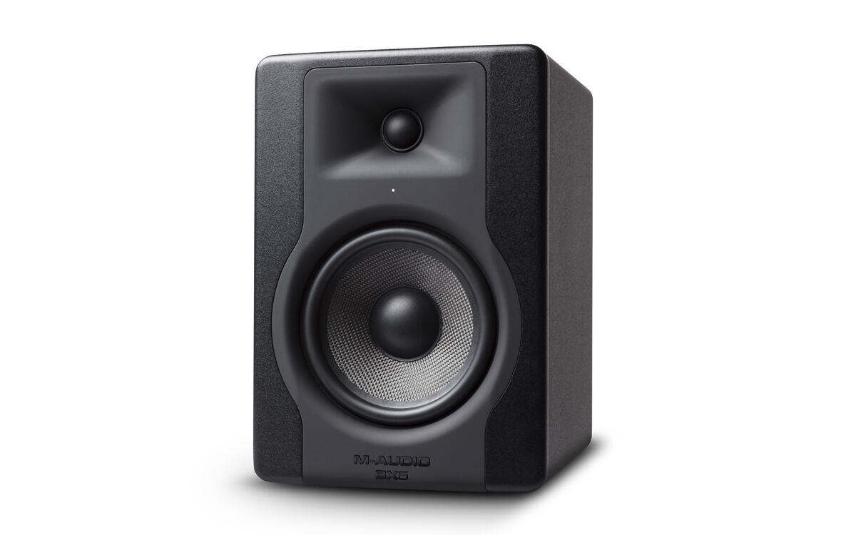m audio bx5 d3 5 studio monitors pair inc isolation pads cables 8944773095950 ebay. Black Bedroom Furniture Sets. Home Design Ideas