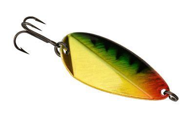 "2 NEW 13 Fishing Flash Bang jigging Rattle Spoon 1-1//2/"" 3//8 oz Fire Tiger"