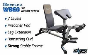Weight bench Adjustable FID Preacher Curl , Leg Developer New Malaga Swan Area Preview