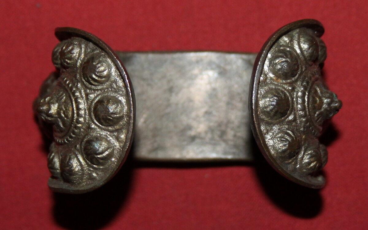 Antique Greek Orthodox Folk Silverplated Fertility Bracelet