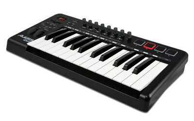 Alesis QX25 25-Key Advanced MIDI Keyboard Controller (Open Box Demo unit) for sale  Shipping to India