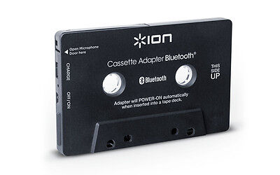 Купить ion audio Cassette Adapter Bluetooth - Ion Audio Cassette Bluetooth Adapter Music Receiver for Cassette Deck (Black)NEW