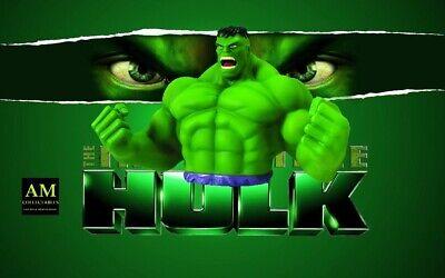 Marvel - Hulk - Money Bust Banco - Hucha - Figura - Nuevo / Caja Orig.