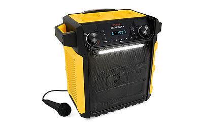 ION Pathfinder 100 Watt Rechargeable Bluetooth AM FM Waterpr