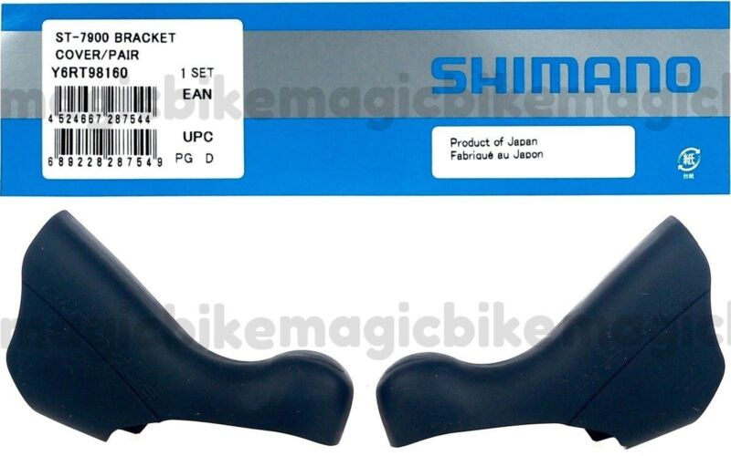 Shimano ST-7900 Dura Ace Shifter Bracket Hood Cover Pair Y6RT98160 NEW