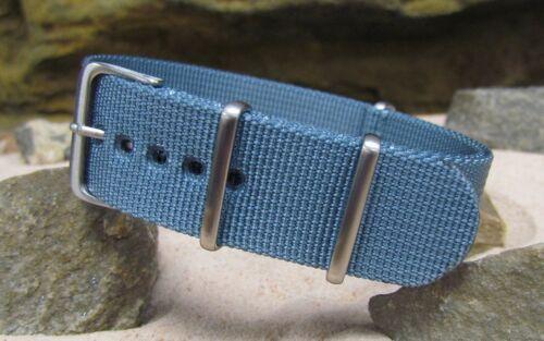 XII Ballistic Nylon Strap w/ Brushed Hardware By NATO Strap