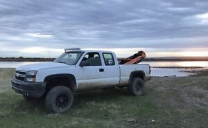 "6"" lifted Chevy 1500"