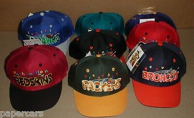 8 Packers Seahawks Chiefs Bengals boys New Snapback Hats Football Party Supply