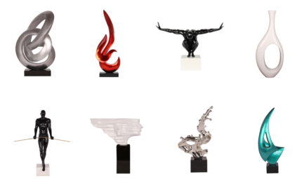 Handcrafted Modern Abstract & Contemporary Sculptures | Polyresin