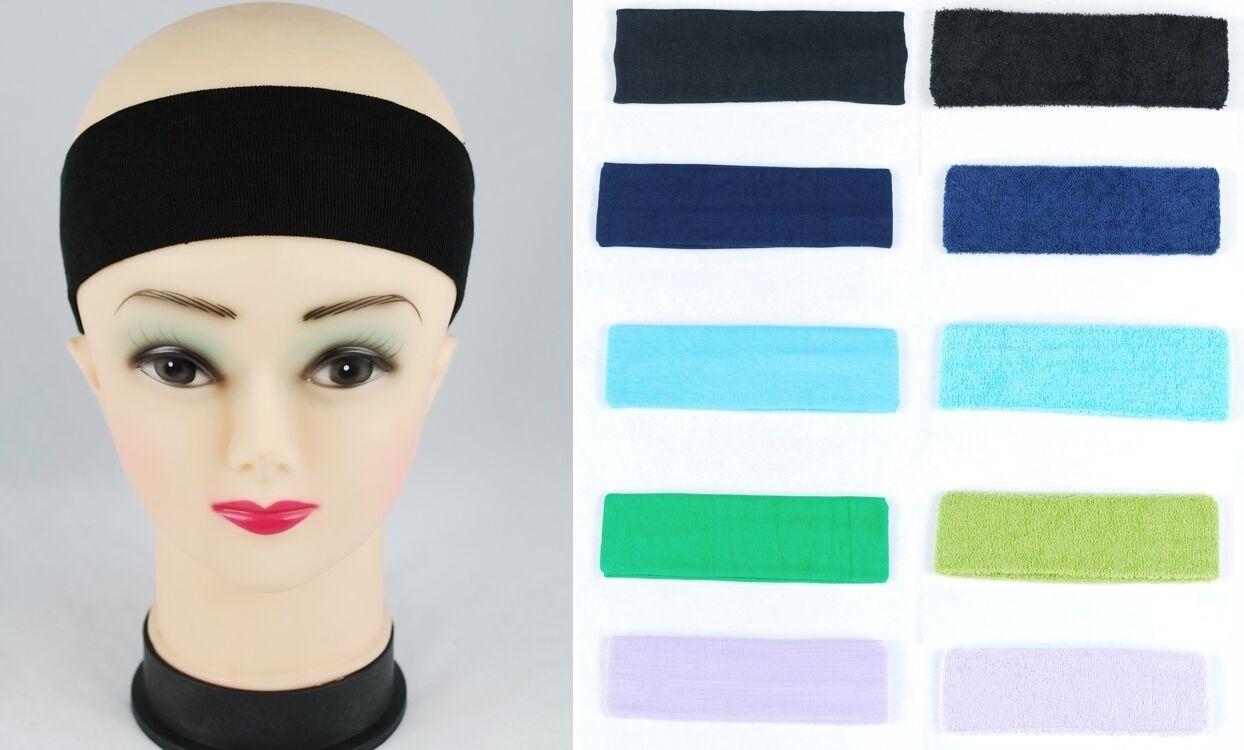 Stirnband Schweißband Haarband Schweissbänder Stirnband für SPORT NEU