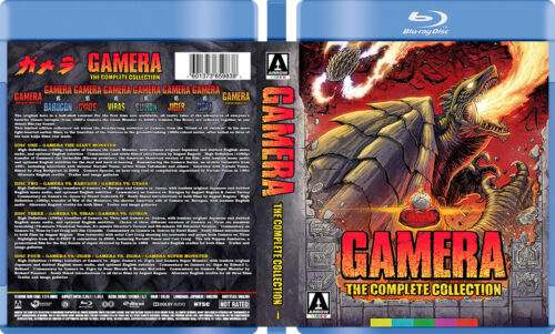 Gamera The Complete Collection - Custom Blu-ray Covers W/ Empty Case (No Discs)