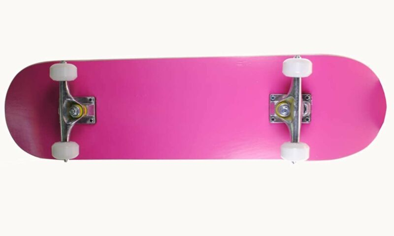 S4O Complete Full Size Standard Maple Deck Skateboard Pink
