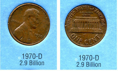 1970 D ABE Lincoln Memorial AMERICAN PENNY 1 CENT US U.S AMERICA ONE COIN #B2 for sale  Westlake