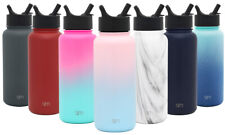 Simple Modern Summit Water Bottle with Straw Lid - Vacuum Insulated Kid's Cup