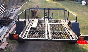 Yz250f 2012 and custom motorbike trailer Ipswich Ipswich City Preview
