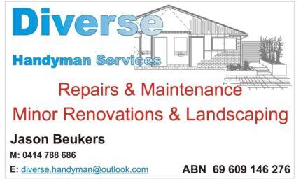 Diverse Handyman Services Newcastle Region Preview