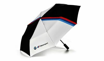 Genuine BMW M Motorsport Pocket Umbrella Black & White 80282461136