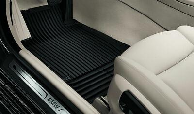 Original BMW 5er Allwetter Fussmatten vorne F10 F11 Matten schwarz 51472153725