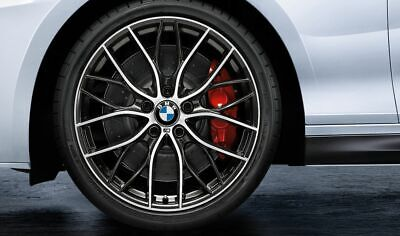 """Brand New Genuine BMW 19"""" 405M Style Wheels and Tyre Set 36112459625 1 2 Series"""
