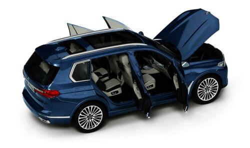 Original BMW Miniatur X7 G07 Arktiksgrau 1:18 Sammlermodell Neu 80432450997