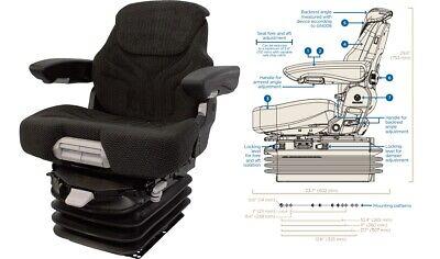 Air Suspension Seat For Case Ih Mx100 Mx100c Mx110 Mx120 Mx135 Mx150 Mx170