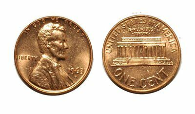 1963 D LINCOLN CENT   DOUBLE DIE  1DO 009 CHOICE BU RED 221