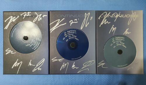 VICTON [Continuous] SIGNED 6thMini AlbumCD+P.bk+Tpt.Film+ARCard+PC+L.Bk+F.POSTER