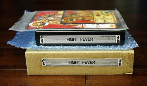 Fight Fever US English MVS Kit • Neo GeoJAMMA Arcade System • SNK Viccom