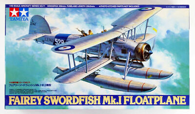 Tamiya 61071 Fairey Swordfish Mk.I Floatplane 1/48 Scale Kit JAPAN OFFICIAL