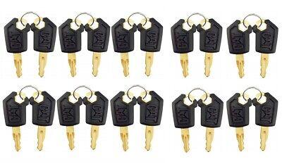 20 Keys For Cat Caterpillar Heavy Equipment Ignition Key 5p8500 With Logo